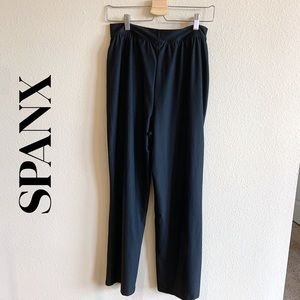Spanx Wide Leg Black Pants